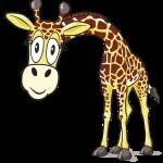 left-facing-giraffe